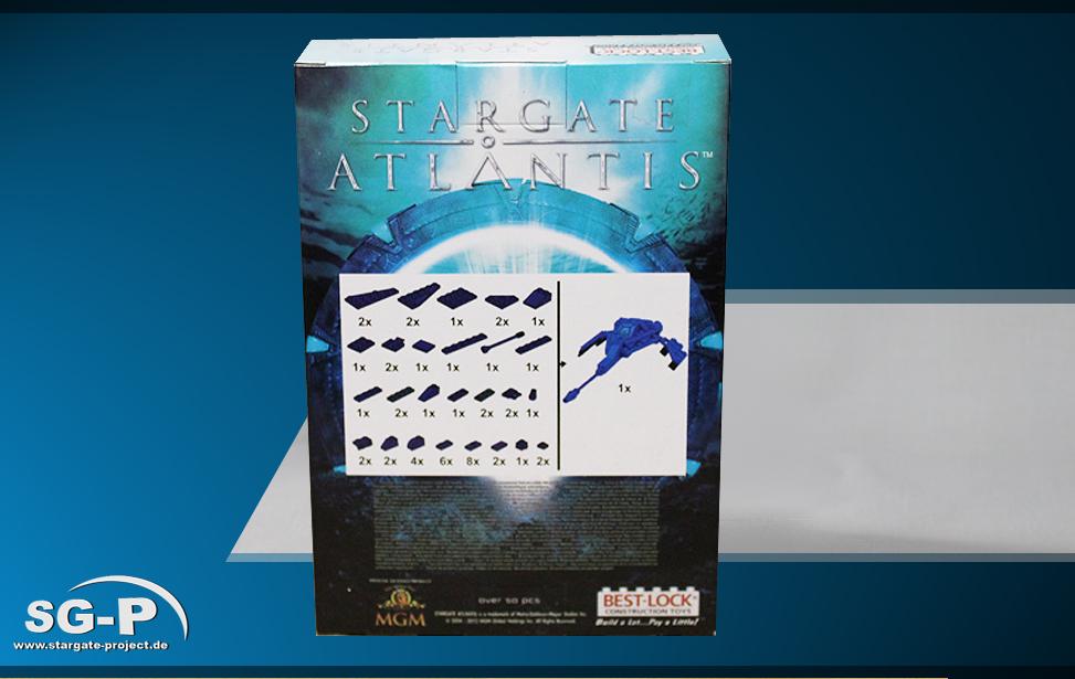 Best-Lock Stargate: Atlantis Wraith Dart (mini) 003