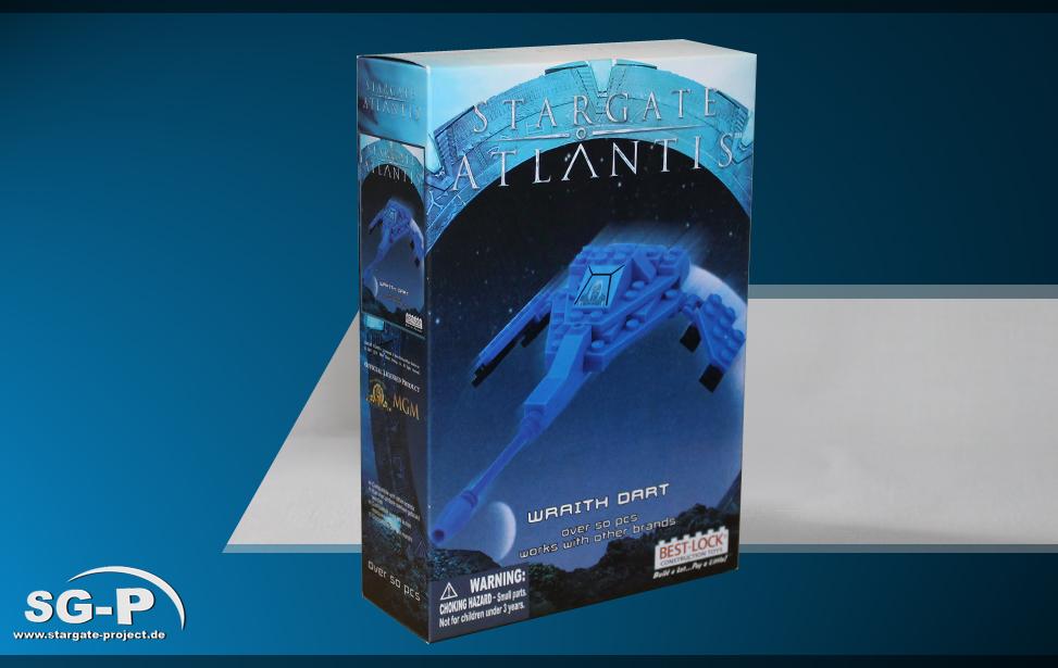 Best-Lock Stargate: Atlantis Wraith Dart (mini) Teaser