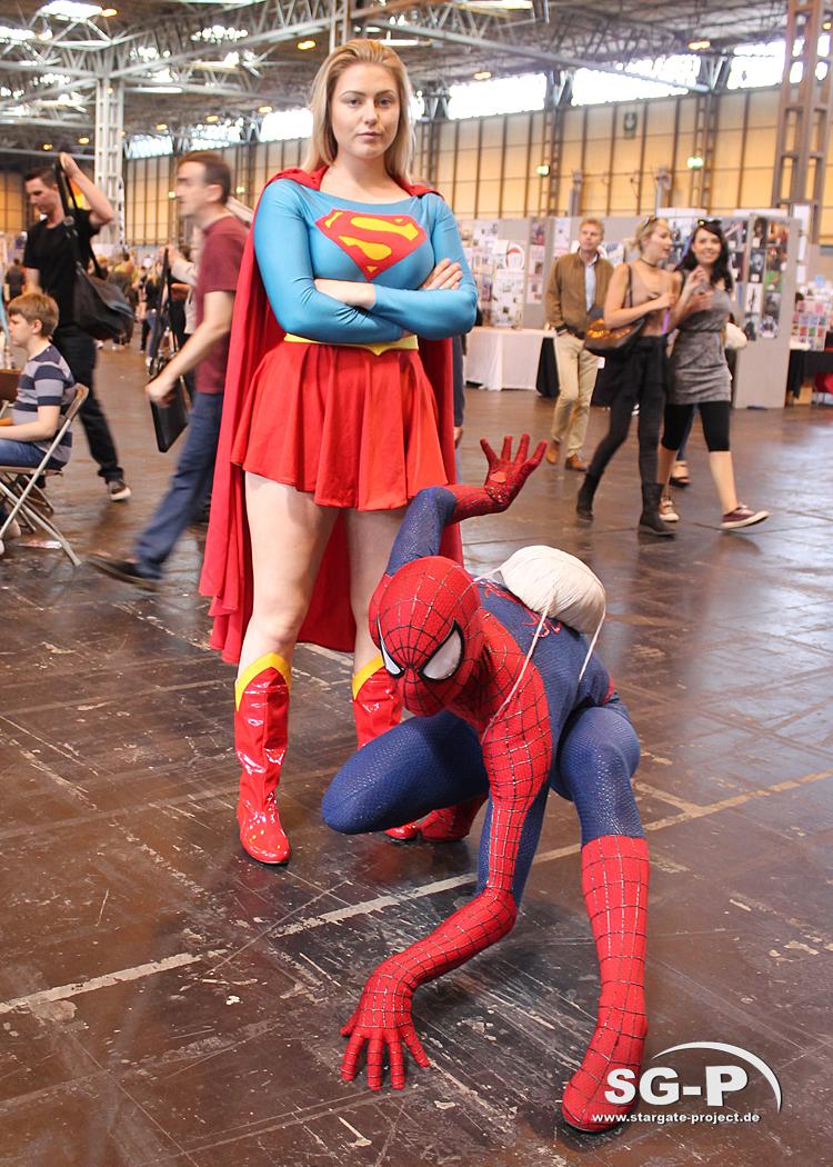 Collectormania 24 - Birmingham 2017 - Galerie - Cosplay - Supergirl - Spider-Man