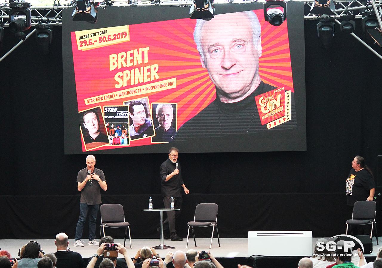 Comic Con Germany Stuttgart 2019 - Star Trek - Brent Spiner Jonathan Frakes 1