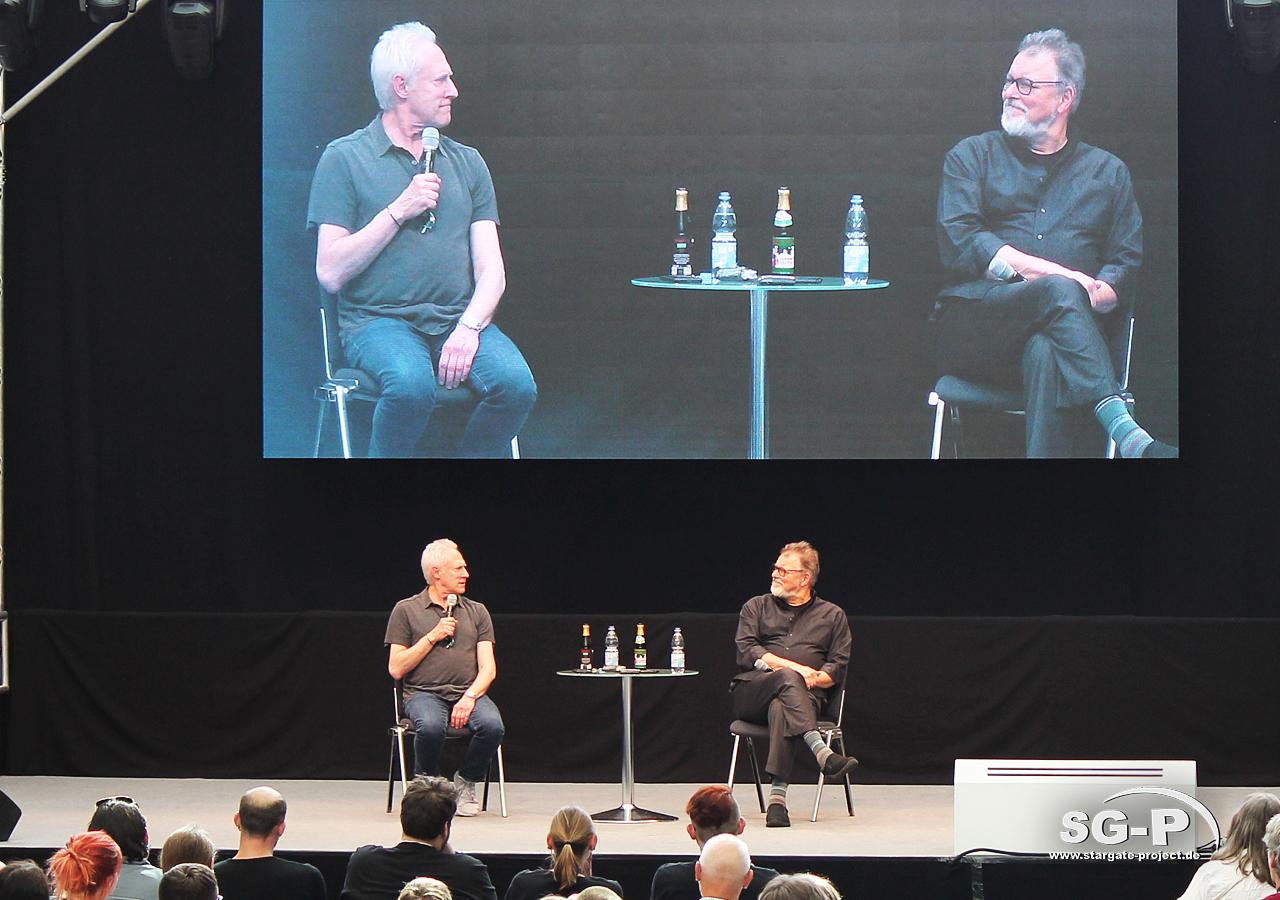 Comic Con Germany Stuttgart 2019 - Star Trek - Brent Spiner Jonathan Frakes 11
