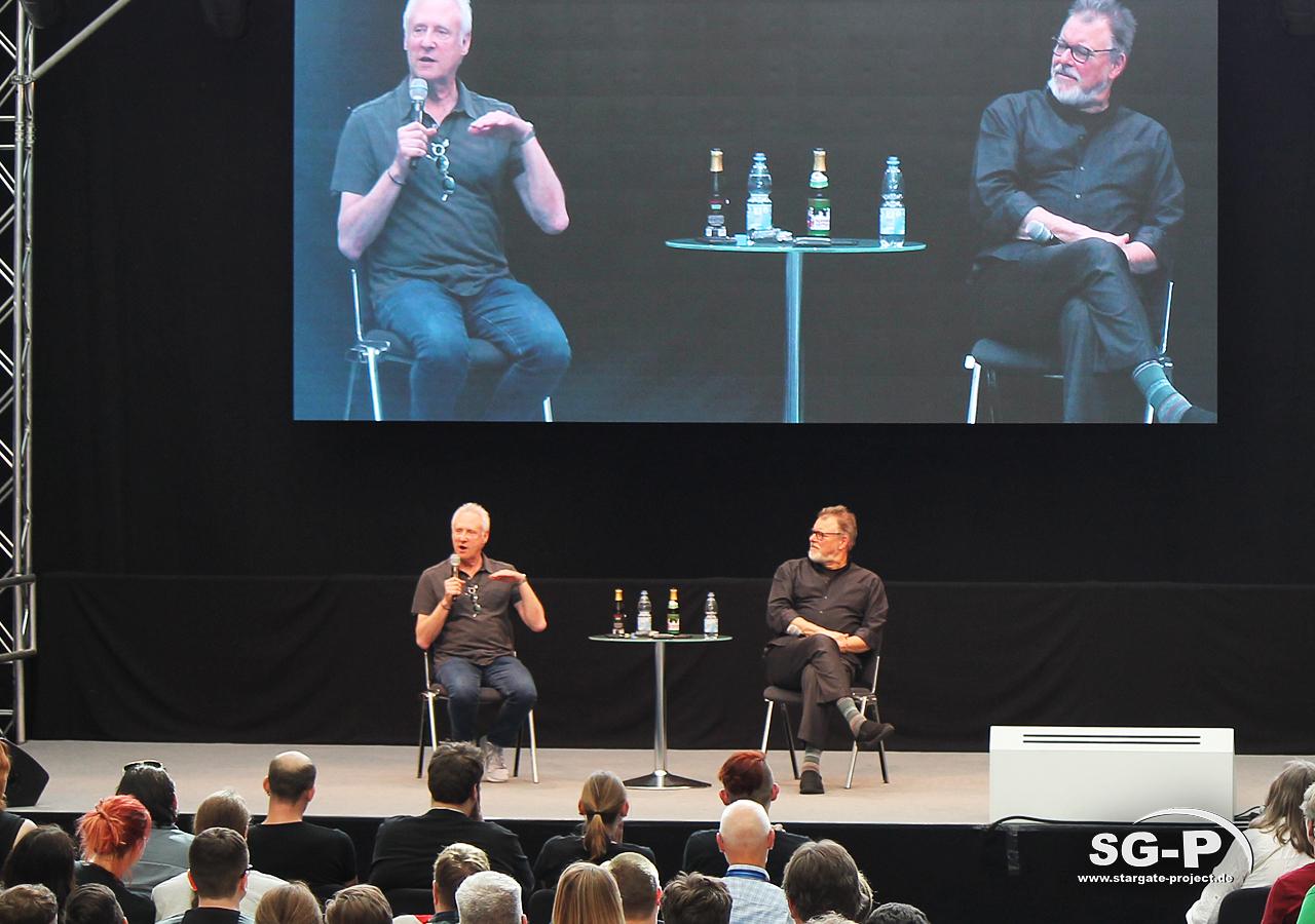 Comic Con Germany Stuttgart 2019 - Star Trek - Brent Spiner Jonathan Frakes 12