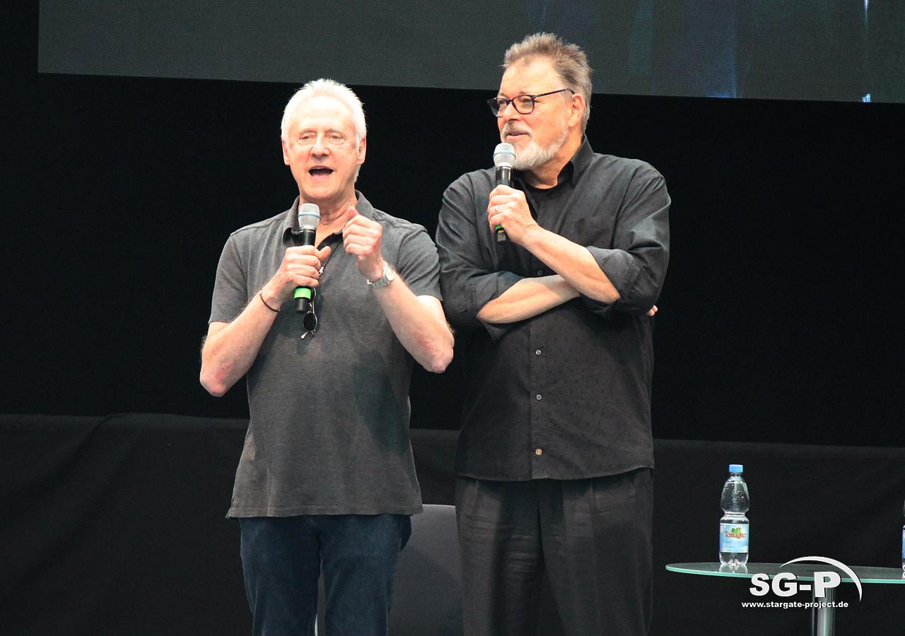 Comic Con Germany Stuttgart 2019 - Star Trek - Brent Spiner Jonathan Frakes 3