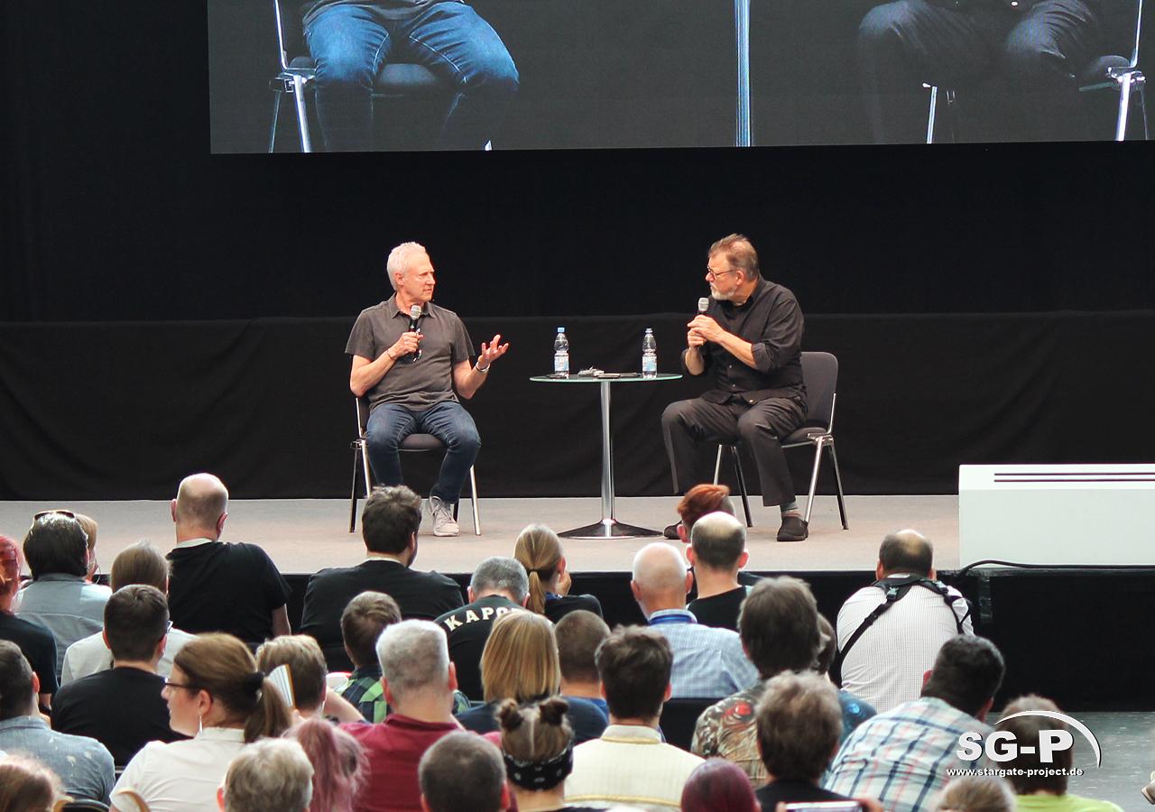Comic Con Germany Stuttgart 2019 - Star Trek - Brent Spiner Jonathan Frakes 4