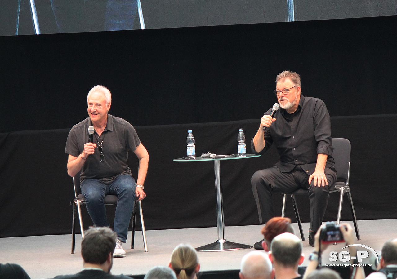 Comic Con Germany Stuttgart 2019 - Star Trek - Brent Spiner Jonathan Frakes 5