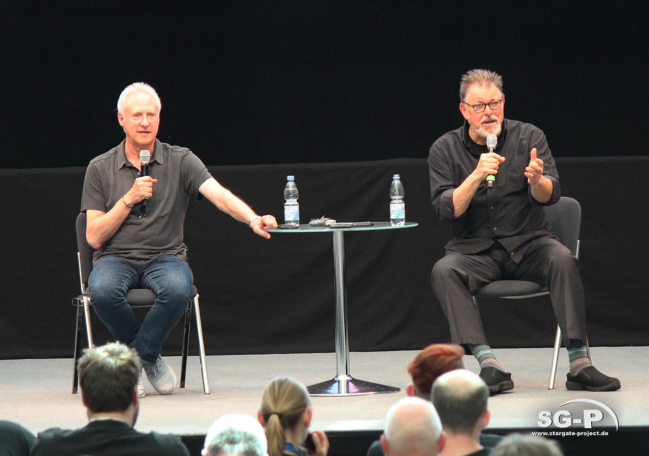 Comic Con Germany Stuttgart 2019 - Star Trek - Brent Spiner Jonathan Frakes 6