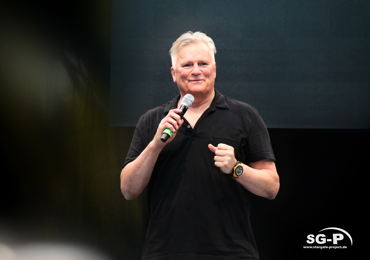 Comic Con Germany Stuttgart 2019 - Stargate Jack O'Neill - Richard Dean Anderson 3