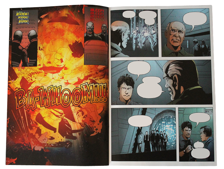 Comic SGA Hearts and Minds #3 - Page