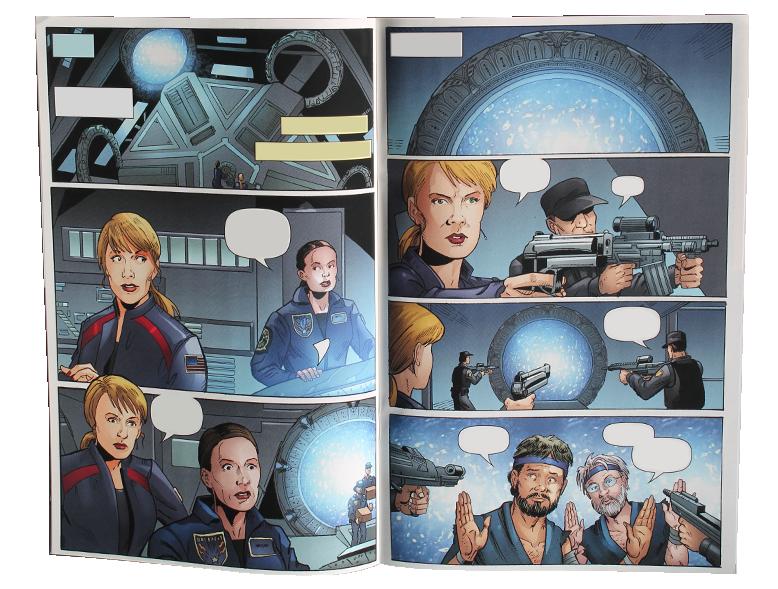Comic SGA Singularity #1 - Page