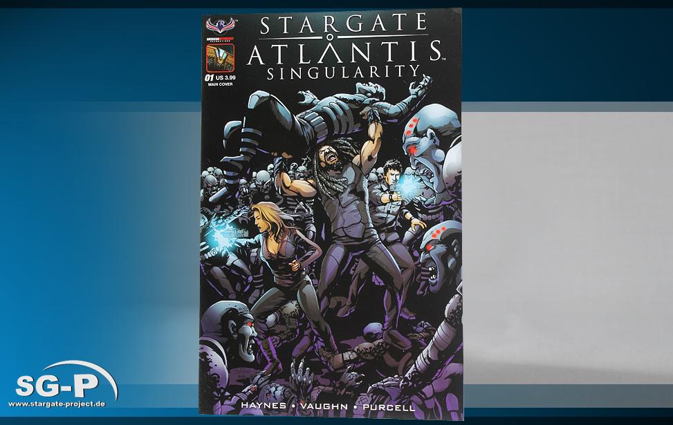 Comic SGA Singularity #1