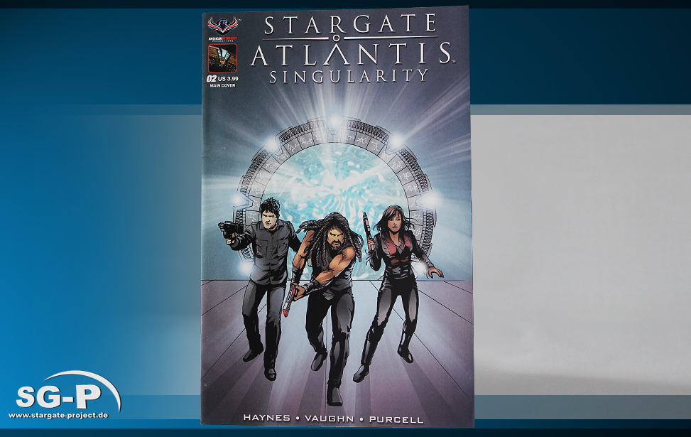 Comic SGA Singularity #2