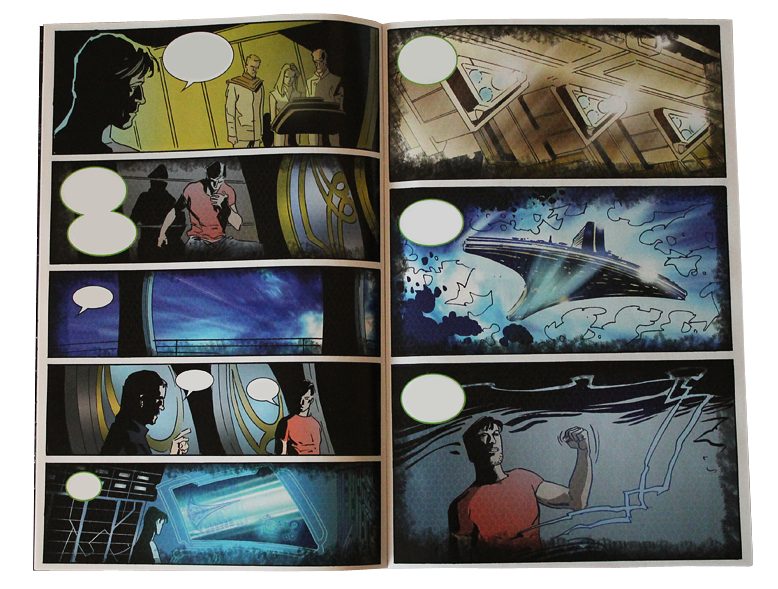 Comic - SGU Back to Destiny #1 - Page