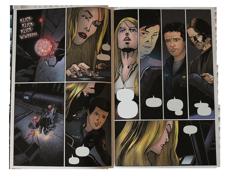 Comic - SGU Back to Destiny #3 - Page