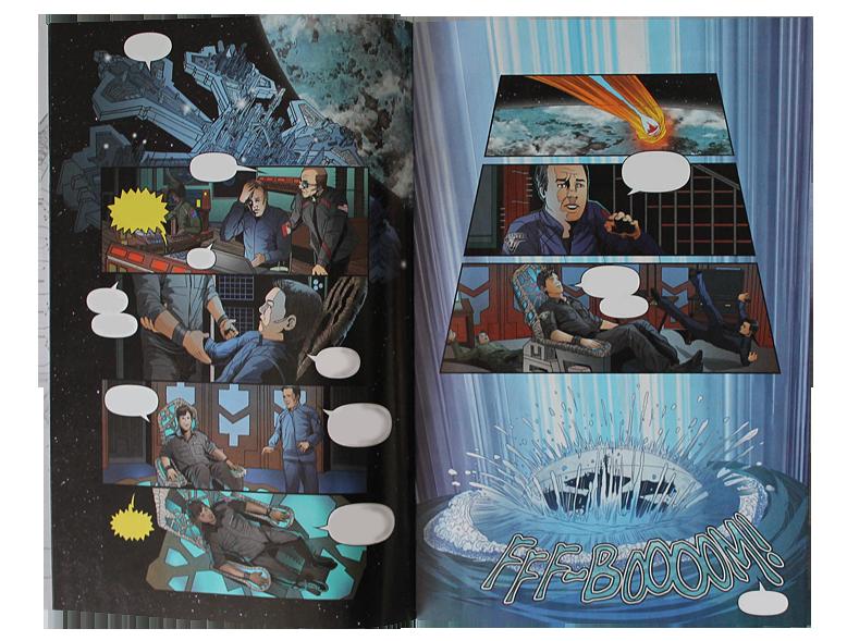 Comic - SGA Gateways #1 Page