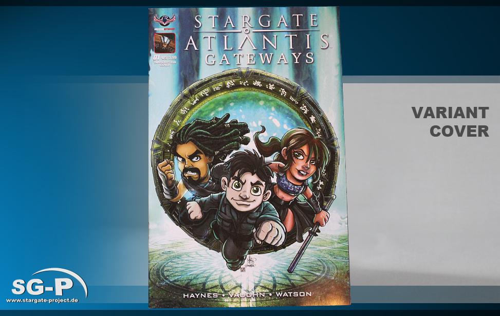 Comic - SGA Gateways #1 Variant Cover