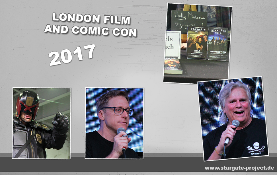 Teaser - Conbericht - London Film and Comic Con 2017