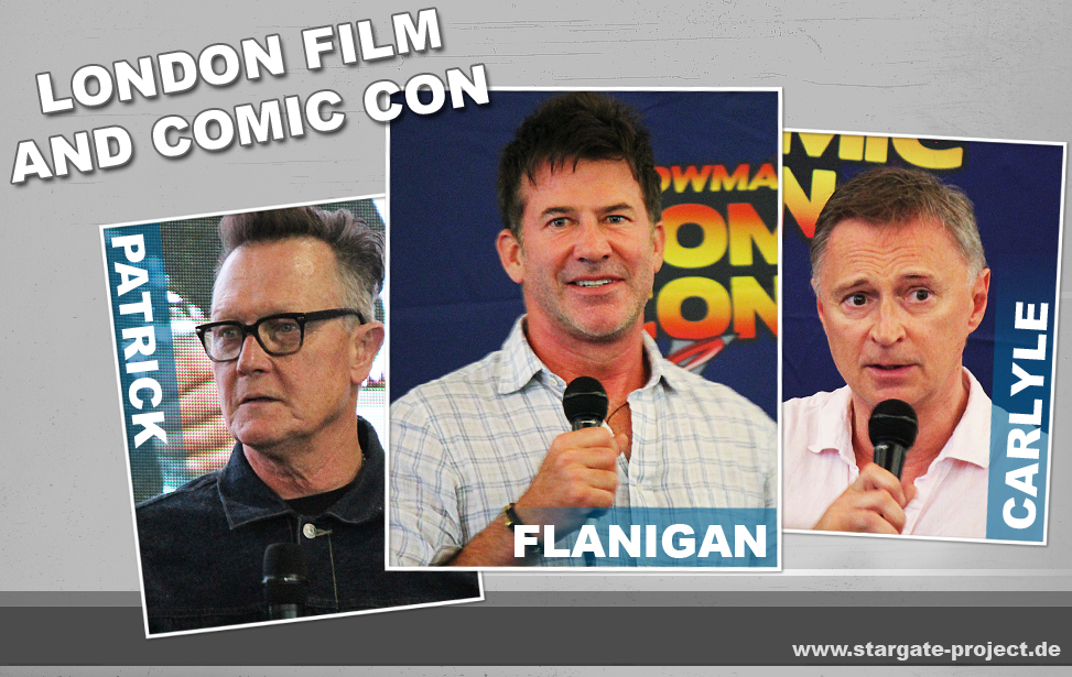 Teaser - Conbericht - London Film and Comic Con 2019 / Talks Joe Flanigan Robert Patrick Robert Carlyle
