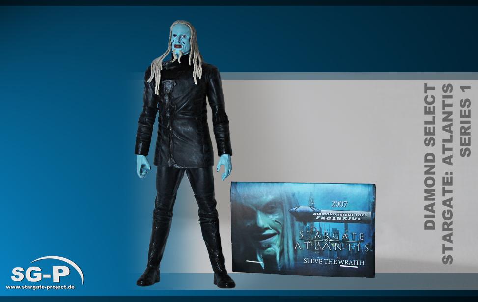 Merchandise - Diamond Select Stargate Atlantis Series 1 Exclusive Steve the Wraith 1