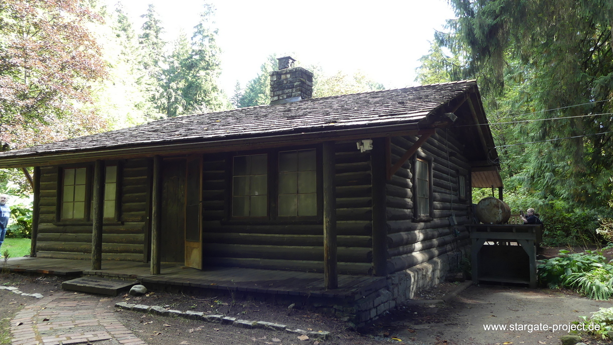 Gatecon 2018 Filming location tour Jack's cabin