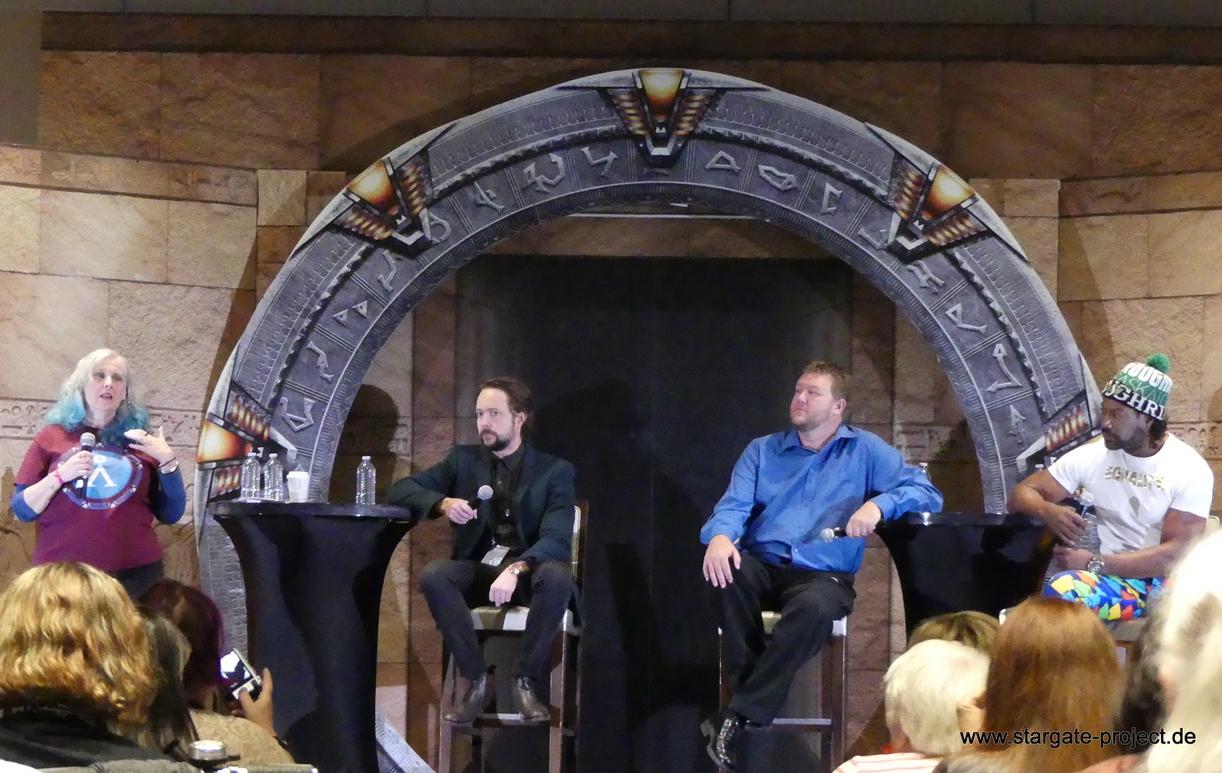 Gatecon 2018 StargateCommand panel
