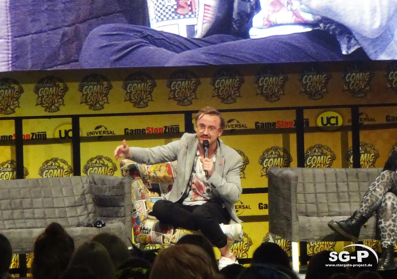 German Comic Con Dortmund 2019 - Tom Felton - 06