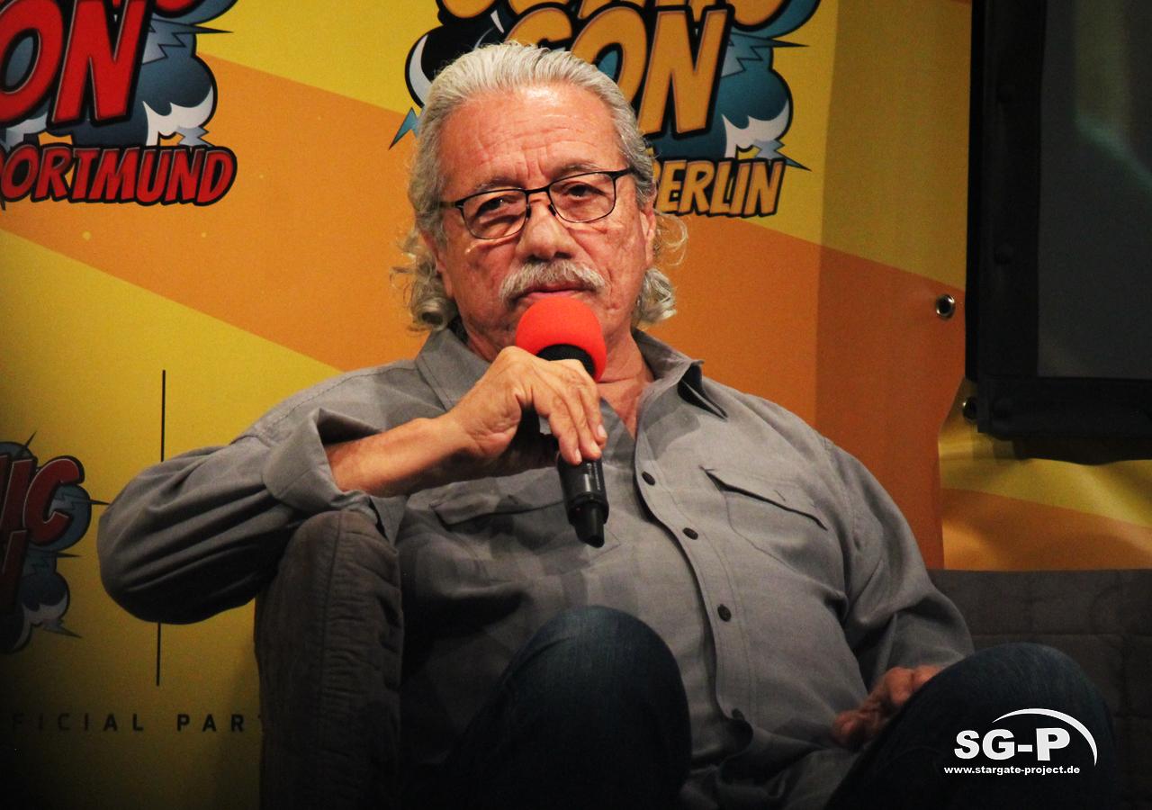 German Comic Con München 2019 - Battlestar Galactica - Edward James Olmos Mary McDonnell 12