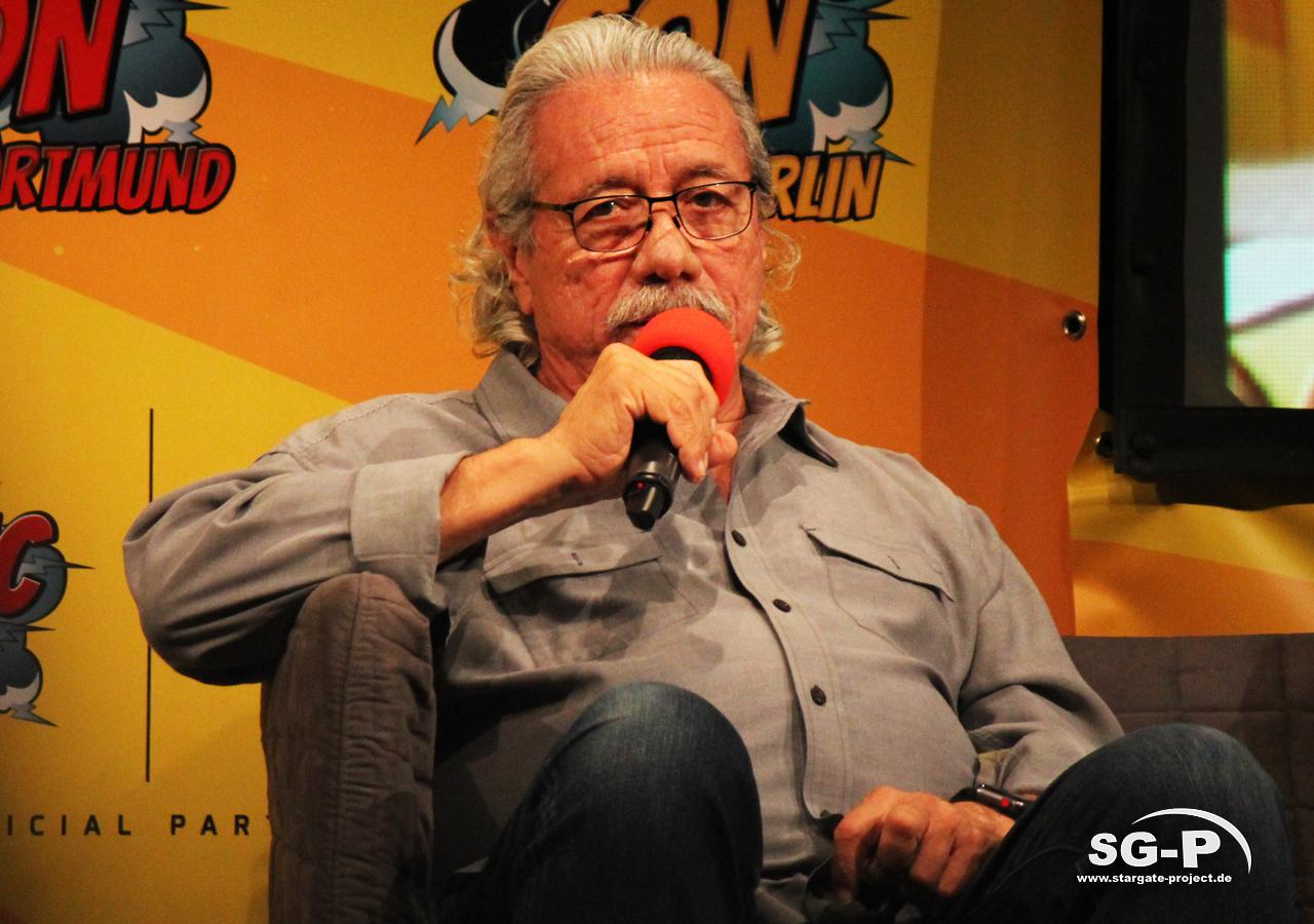 German Comic Con München 2019 - Battlestar Galactica - Edward James Olmos Mary McDonnell 13
