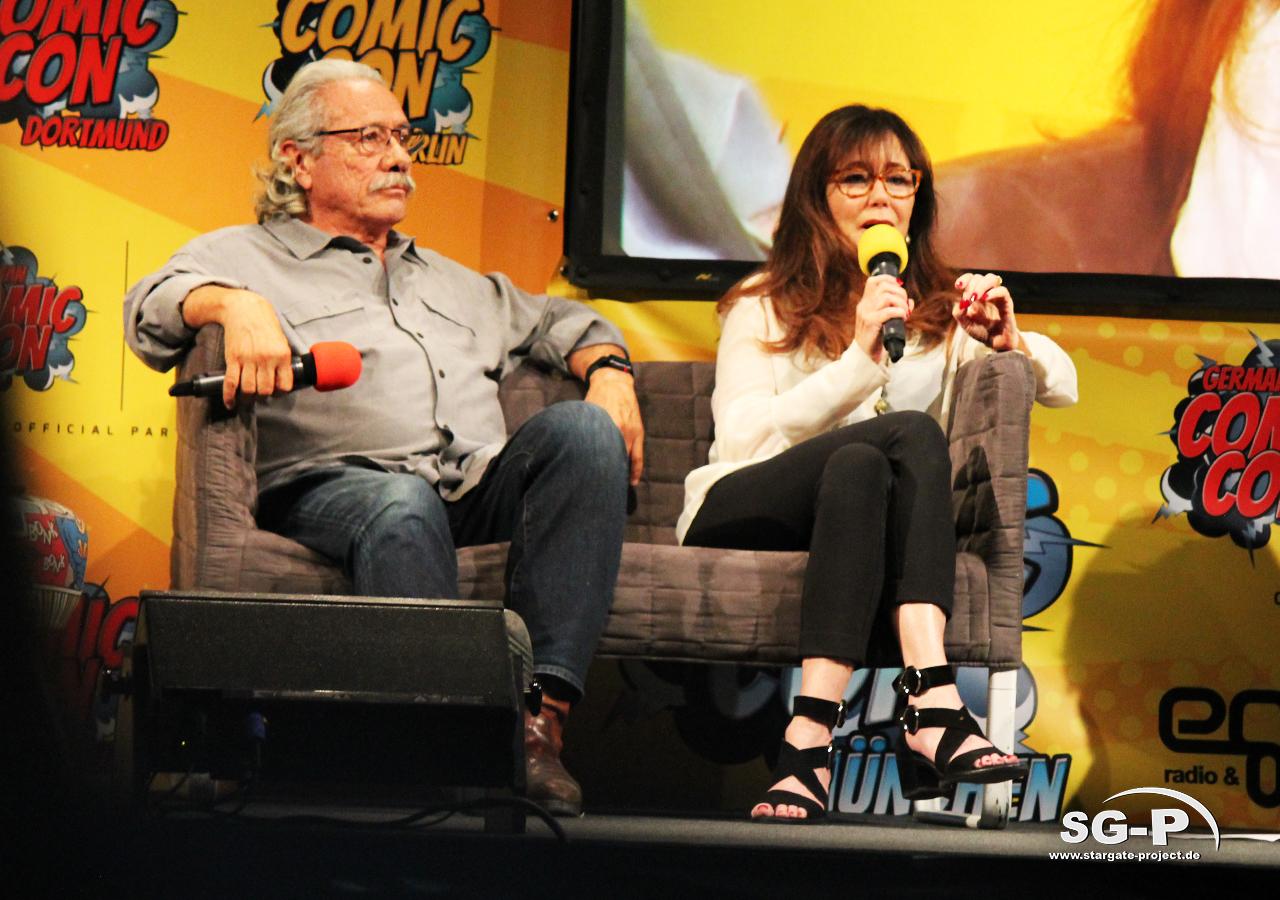 German Comic Con München 2019 - Battlestar Galactica - Edward James Olmos Mary McDonnell 8
