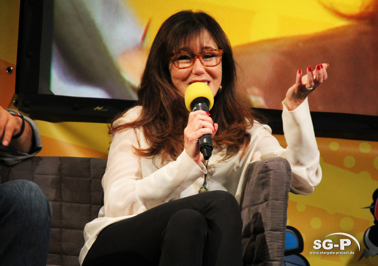 German Comic Con München 2019 - Battlestar Galactica - Edward James Olmos Mary McDonnell 9