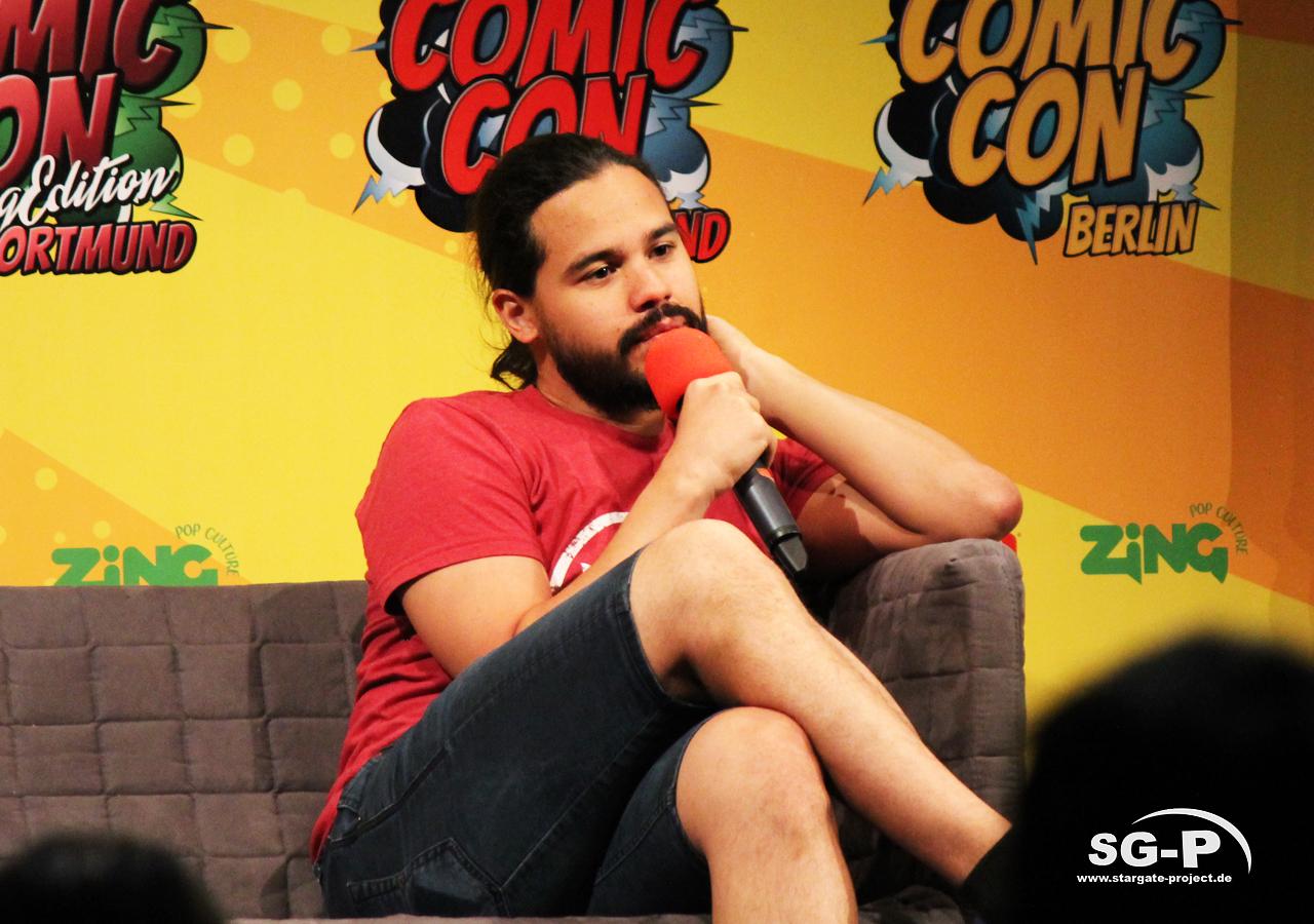 German Comic Con München 2019 - Carlos Valdes 7