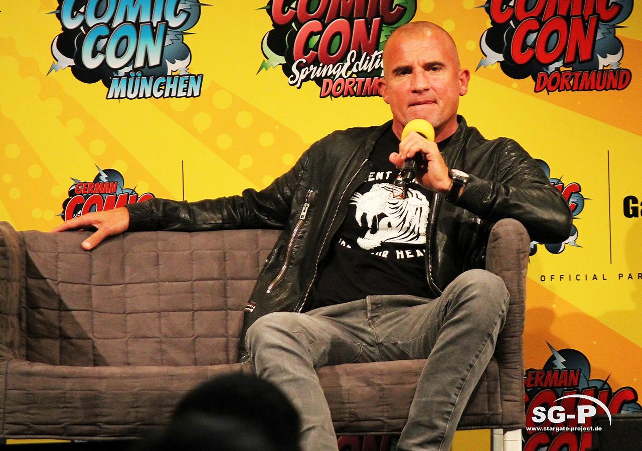 German Comic Con München 2019 - Dominic Purcell 3
