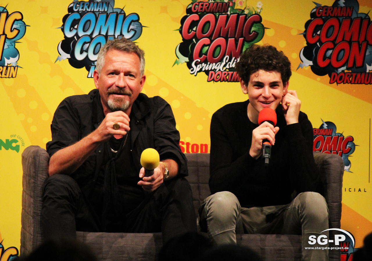 German Comic Con München 2019 - Gotham - Sean Pertwee David Mazouz 1
