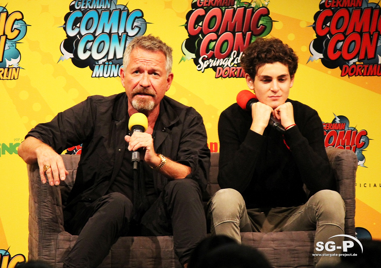 German Comic Con München 2019 - Gotham - Sean Pertwee David Mazouz 10