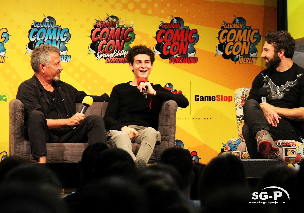 German Comic Con München 2019 - Gotham - Sean Pertwee David Mazouz 11