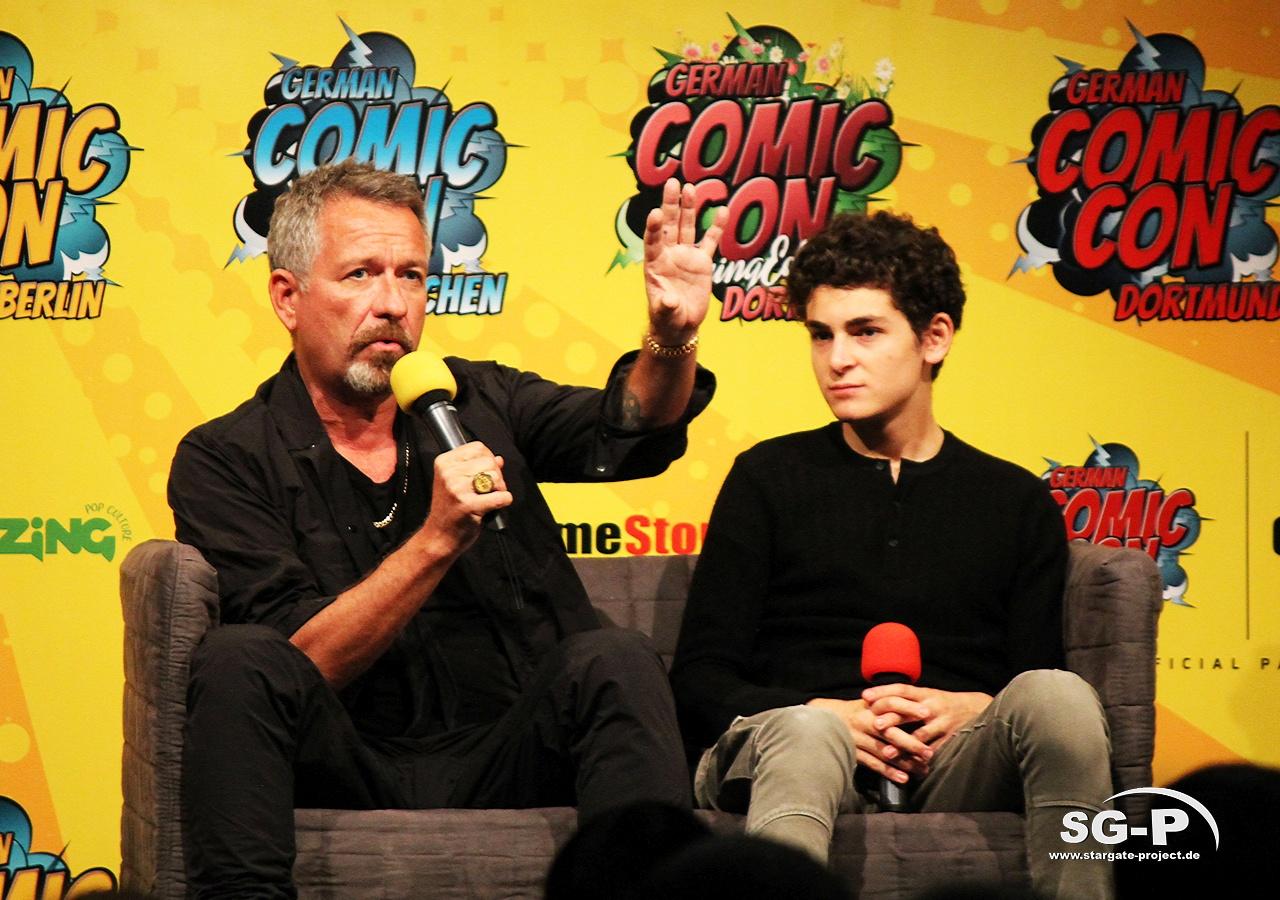 German Comic Con München 2019 - Gotham - Sean Pertwee David Mazouz 13
