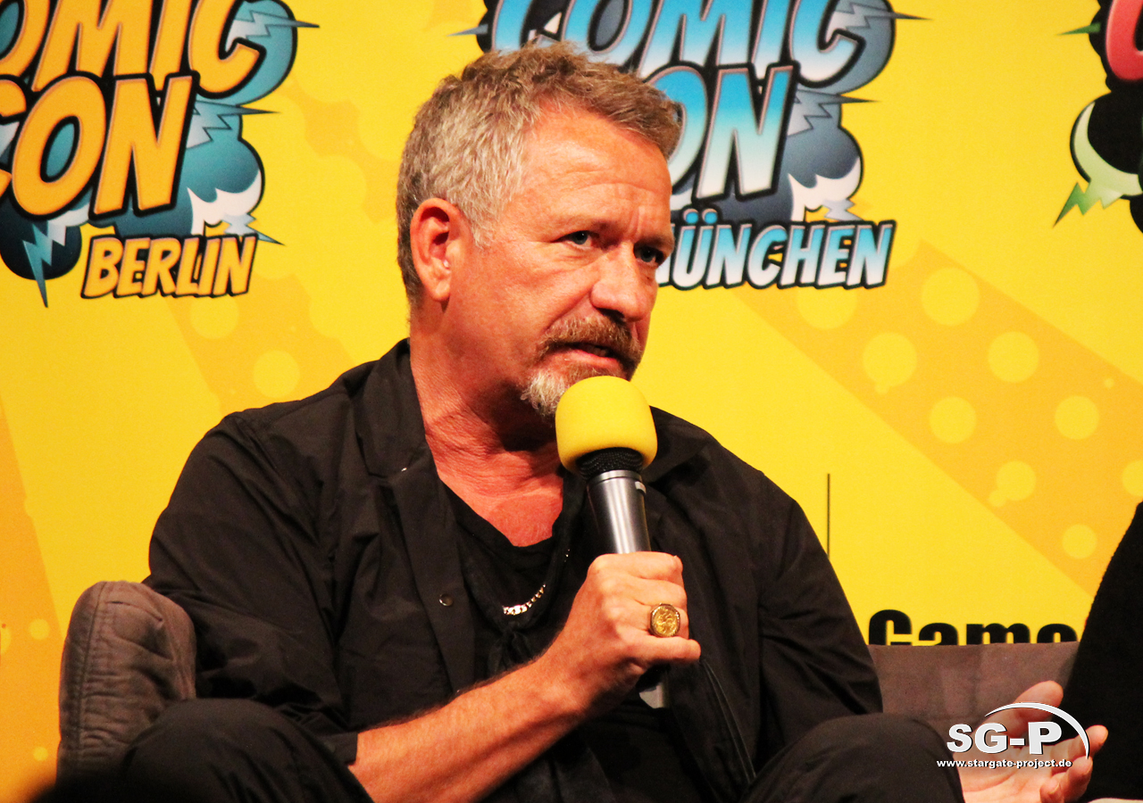 German Comic Con München 2019 - Gotham - Sean Pertwee David Mazouz 14