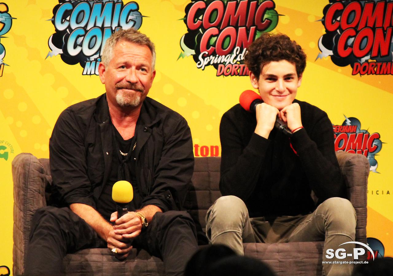 German Comic Con München 2019 - Gotham - Sean Pertwee David Mazouz 3
