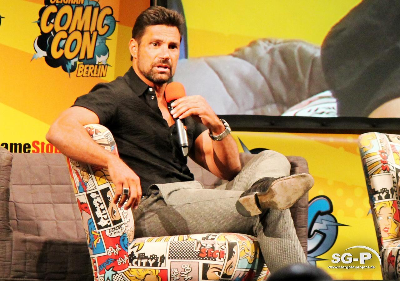 German Comic Con München 2019 - Manu Bennett 1