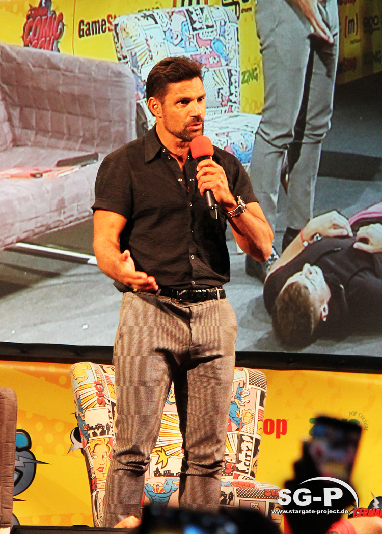 German Comic Con München 2019 - Manu Bennett 10