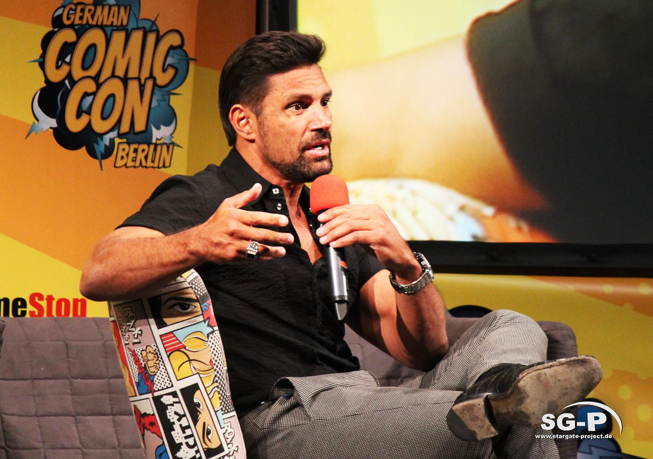 German Comic Con München 2019 - Manu Bennett 2
