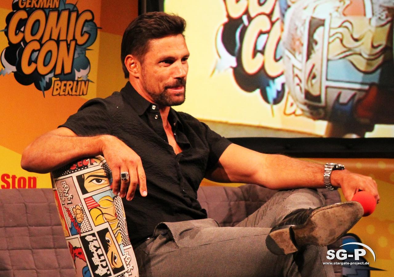 German Comic Con München 2019 - Manu Bennett 4