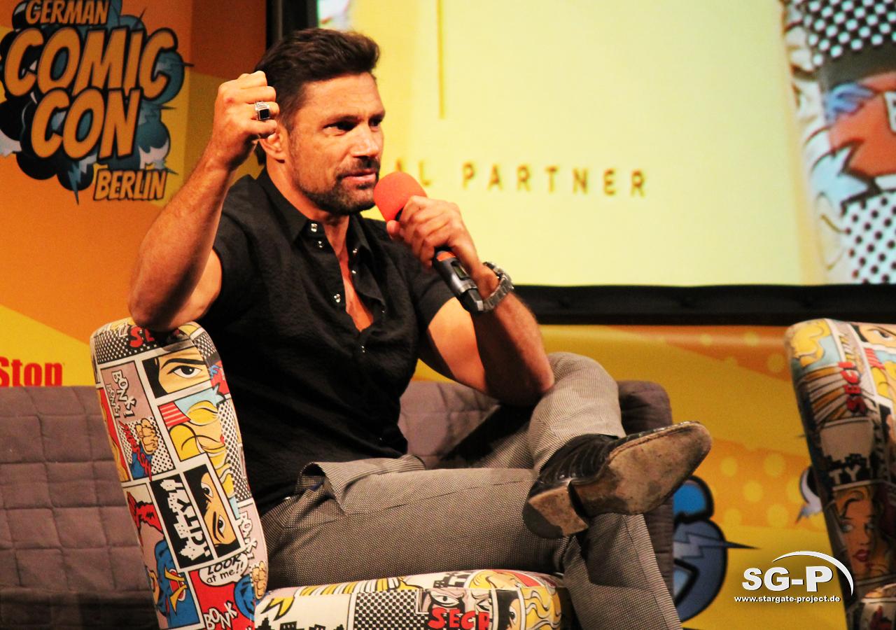 German Comic Con München 2019 - Manu Bennett 5
