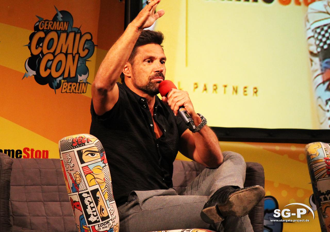 German Comic Con München 2019 - Manu Bennett 6