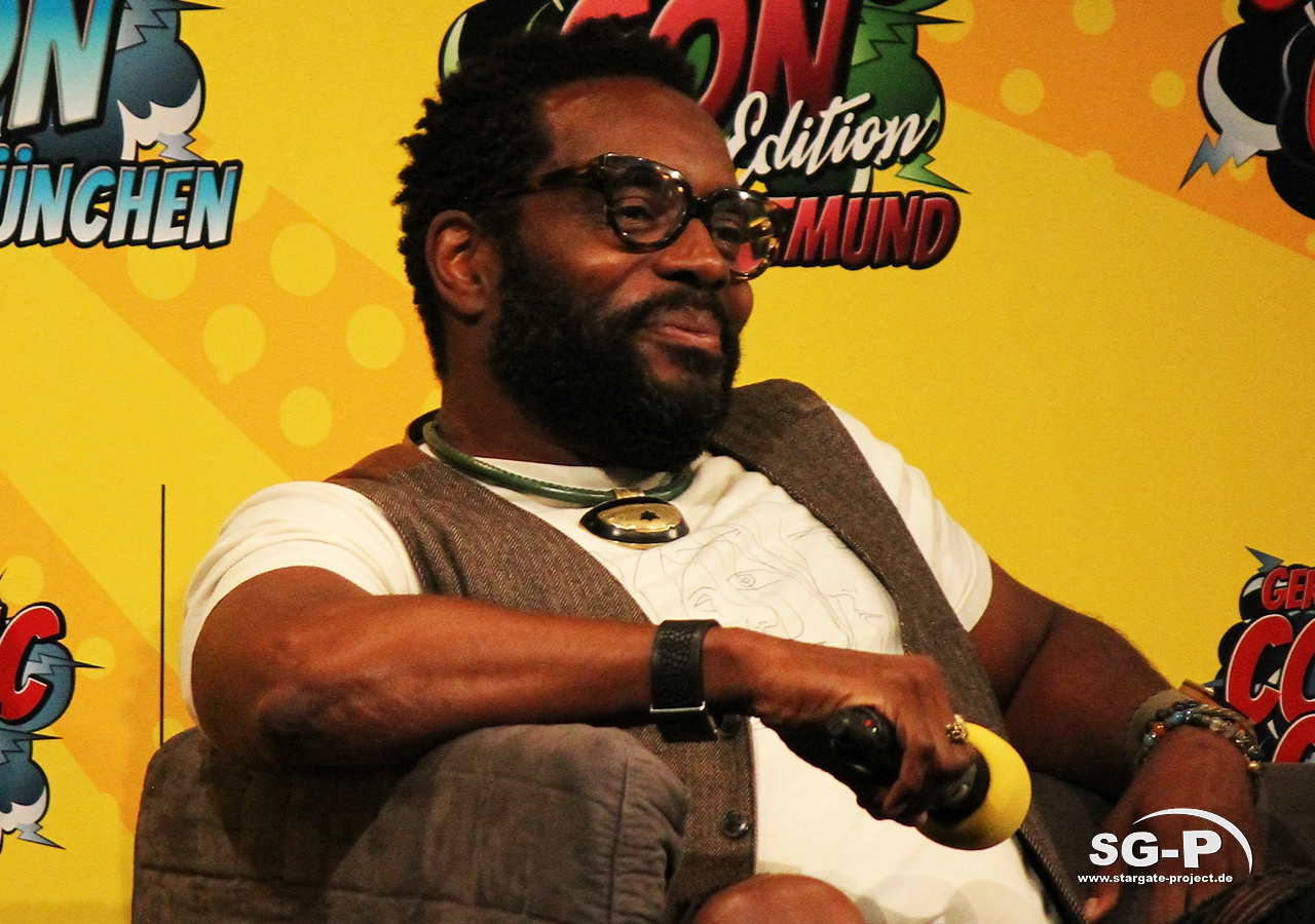 German Comic Con München 2019 - The Walking Dead - Chad Coleman Laurie Holden 5
