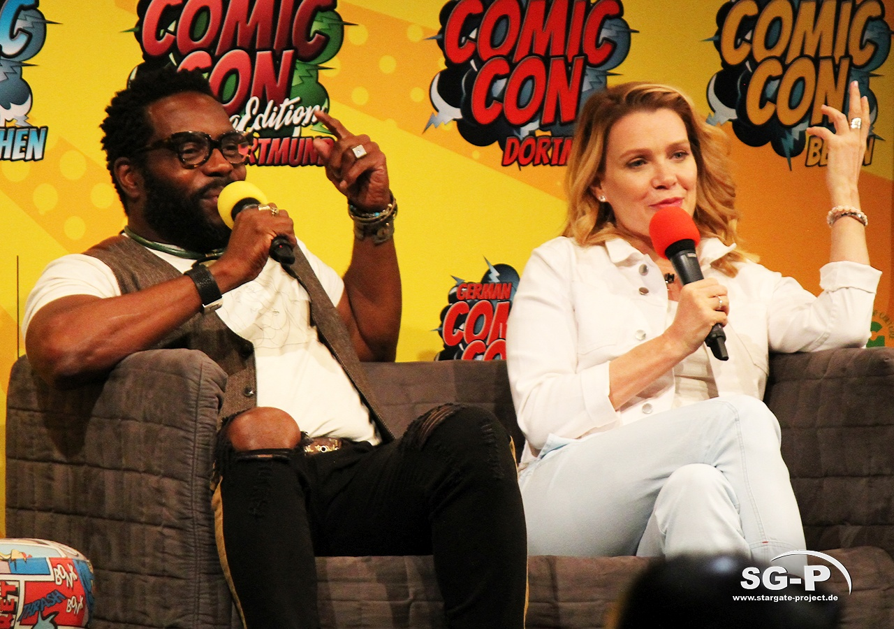 German Comic Con München 2019 - The Walking Dead - Chad Coleman Laurie Holden 6