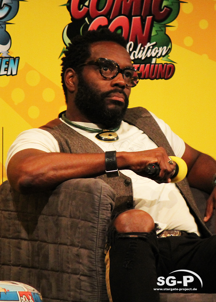 German Comic Con München 2019 - The Walking Dead - Chad Coleman Laurie Holden 7