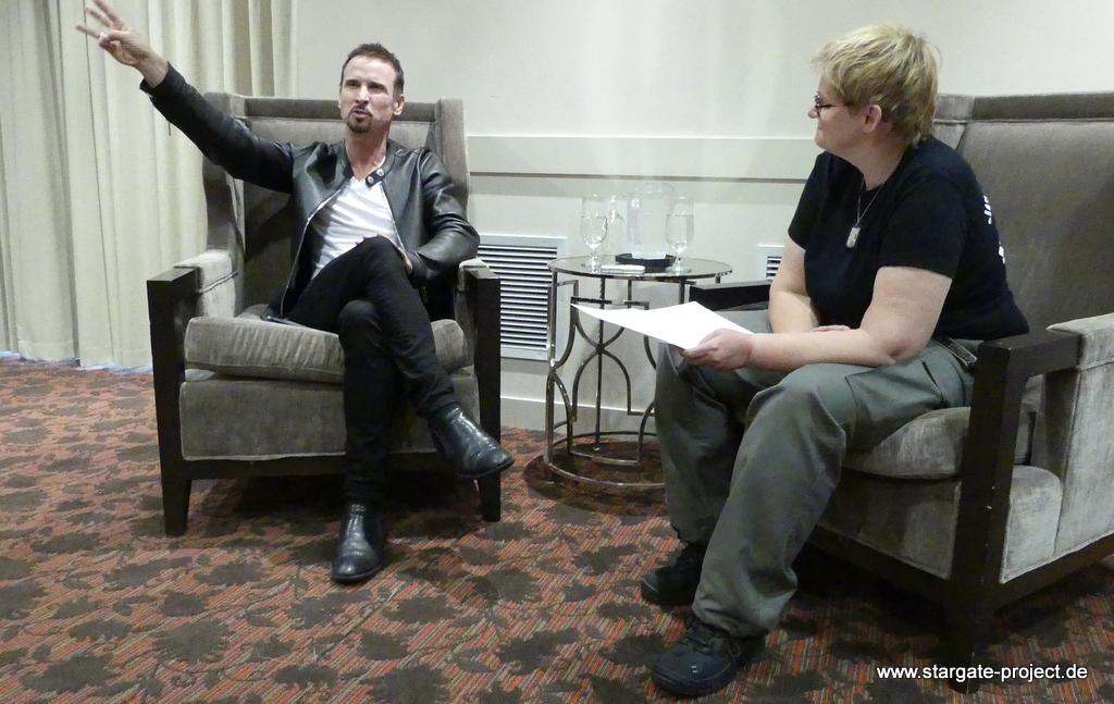 Interview Colin Cunningham Gatecon 2018 5