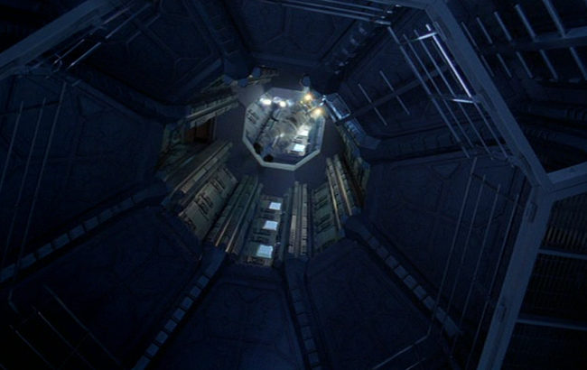 Stargate: Atlantis - Lexikon - Antiker Verteidigungssatellit Schleuse Puddle Jumper 2
