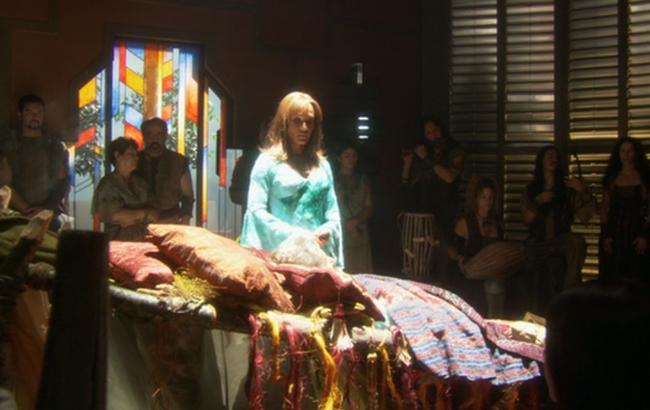 Stargate: Atlantis - Lexikon - Athosianer - Kreiszeremonie / Ringzeremonie 1