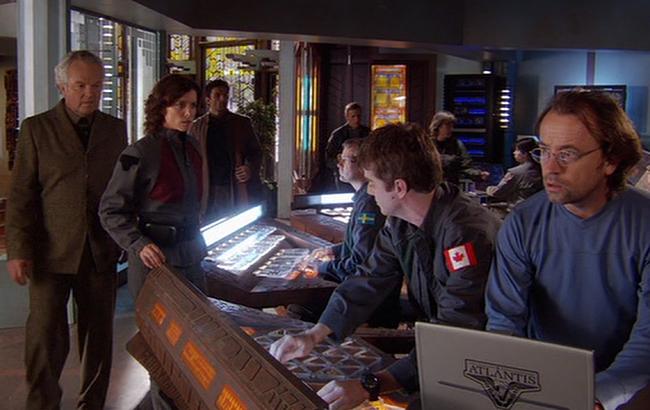 Stargate: Atlantis - Lexikon - Atlantis Kontrollraum 2